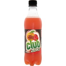 CLUB ZERO ORANGE & RASPBERRY BOTTLES