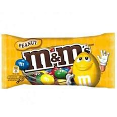 M&M'S PEANUT BAGS 45g (24 PACK)