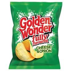 GOLDEN WONDER CHEESE & ONION