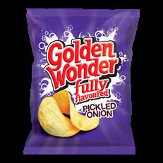 GOLDEN WONDER 32's PICKLED ONION