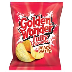GOLDEN WONDER READY SALTED 48's OCTOBER DATED