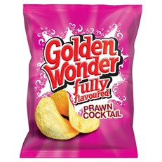 GOLDEN WONDER 32's PRAWN COCKTAIL