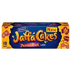 MCVITIES  JAFFA CAKES PASSIONFRUIT 150g (12 PACK)