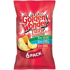 GOLDEN WONDER MULTIPACK VARIETY
