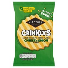 MINI CHEDDARS CRINKLY CHEESE & ONION