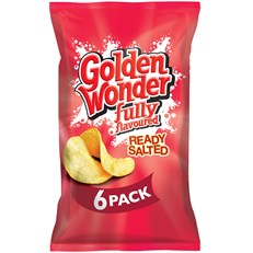GOLDEN WONDER MULTIPACK READY SALTED