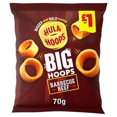 HULA HOOPS £1 BBQ BEEF