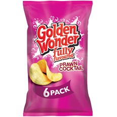 GOLDEN WONDER MULTIPACK PRAWN COCKTAIL
