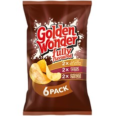 GOLDEN WONDER MULTIPACK MEATY