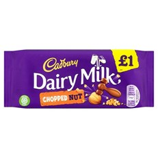 DAIRY MILK £1 CHOPPED NUTS