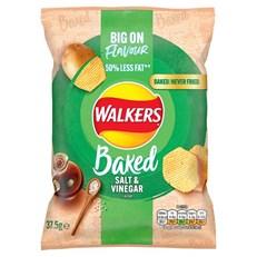 WALKERS BAKED SALT & VINEGAR FULL SIZE BAGS