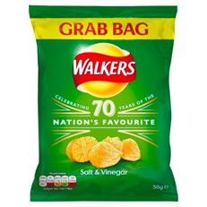 WALKERS GRAB SALT & VINEGAR
