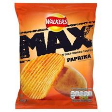 WALKERS MAX PAPRIKA 50g (24 PACK)