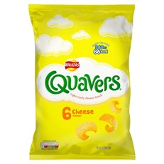 WALKERS 5PACK QUAVERS