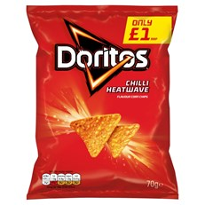 DORITOS £1 CHILLI HEATWAVE