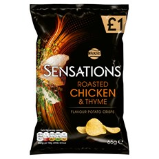 WALKERS £1 SENSATIONS ROAST CHICKEN