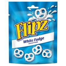 FLIPZ WHITE FUDGE PRETZELS 100g (6 PACK)