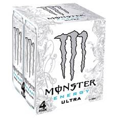 MONSTER ENERGY DRINK ULTRA WHITE 6 x 4PACK