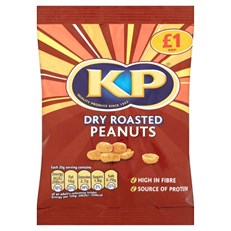 KP £1 DRY ROASTED NUTS