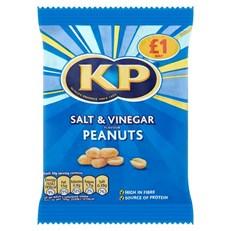KP £1 SALT & VINEGAR NUTS