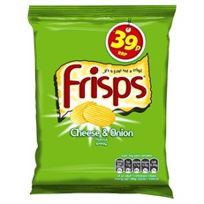 FRISPS 39P CHEESE & ONION