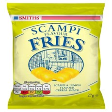 SMITHS SCAMPI FRIES 27G (24 PACK)