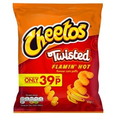 WALKERS 39P CHEETOS TWISTED FLAMIN