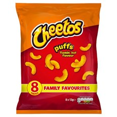 CHEETOS FLAMIN HOT 8PACK