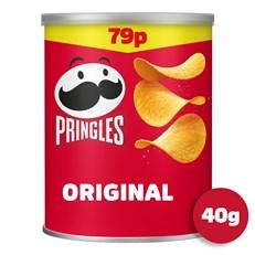 PRINGLES ORIGINAL 40g 69p (12 PACK)