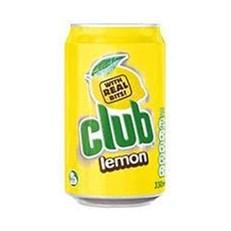 CLUB LEMON CANS 330ml (24 PACK)