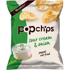 POPCHIPS SOUR CREAM & ONION HANDYPACK