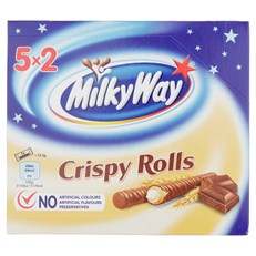 MILKY WAY CRISPY ROLL (13 x 5 PACK)