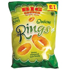 BIG CRUNCH ONION RINGS £1
