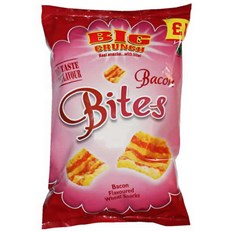 BIG CRUNCH BACON BITES £1