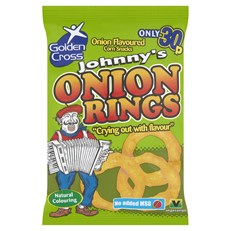 JOHNNYS ONION RINGS 22g 25p (36 PACK)