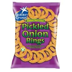 GOLDEN CROSS PICKLED ONION RINGS 150g (12 PACK)