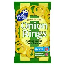 GOLDEN CROSS ONION RINGS 150g (12 PACK)
