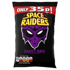 SPACE RAIDERS 30P SAUCY BBQ