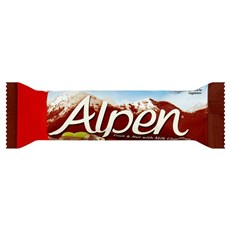 ALPEN BARS FRUIT & NUT CHOCOLATE
