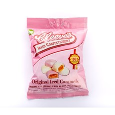 CLEEVES ICED CARAMELS 130g (12 PACK)