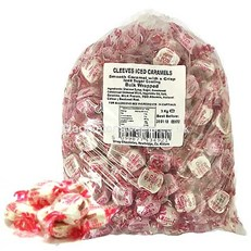 CLEEVES BULK ICED CARAMELS 3KG