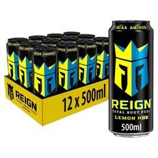 REIGN ENERGY DRINK LEMON HDZ 500ml £1.49 (12 PACK)