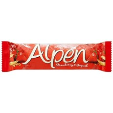 ALPEN BARS STRAWBERRY & YOGHURT