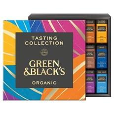 GREEN & BLACKS ORGANIC TASTING COLLECTION 395g