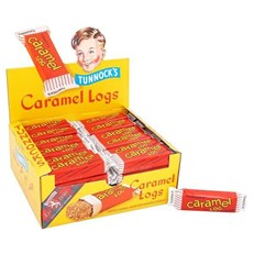TUNNOCKS CARAMEL LOGS 32g (48 PACK)