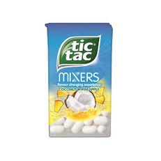 TIC TAC COCONUT & PINEAPPLE
