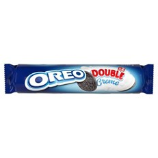 OREO DOUBLE CREME BISCUITS 157g  (16 PACK)