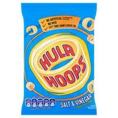 HULA HOOPS SALT & VINEGAR 43g (32 PACK)
