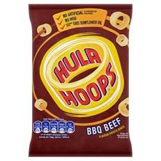 HULA HOOPS BBQ BEEF 43g (32 PACK)