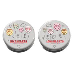 SWIZZELS LOVE HEARTS TINS 100g